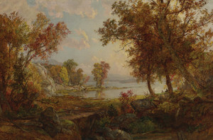 Art Prints of Autumn Scenery by Jasper Francis Cropsey