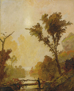 Art Prints of Autumn in the Ramapo Valley by Jasper Francis Cropsey