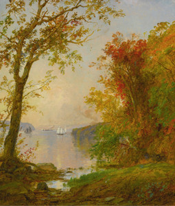 Art Prints of Boating on the Hudson by Jasper Francis Cropsey