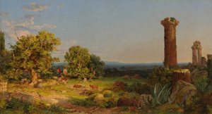 Art Prints of Italian Landscape by Jasper Francis Cropsey