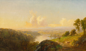 Art Prints of River Landscape by Jasper Francis Cropsey