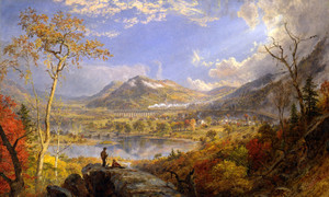 Art Prints of Starrucca Viaduct, Pennsylvania by Jasper Francis Cropsey