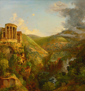 Art Prints of The Temple of the Sibyl Tivoli by Jasper Francis Cropsey