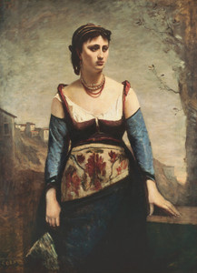 Art Prints of Agostina by Camille Corot