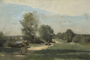 Art Prints of Carrying Water by Camille Corot