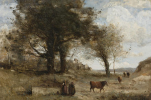 Art Prints of Cowgirls by Camille Corot