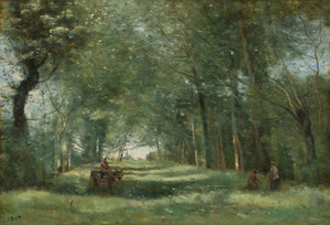 Art Prints of Green Alley by Camille Corot