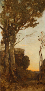 Art Prints of The Four Times a Day, Morning by Camille Corot