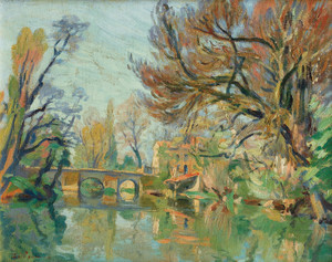 Art Prints of Edge of the River by Jean-Baptiste-Armand Guillaumin