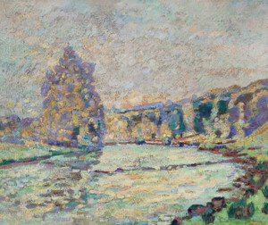 Art Prints of La Creuse a Genetin by Jean-Baptiste-Armand Guillaumin