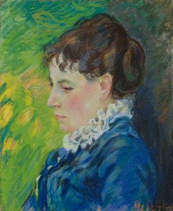 Art Prints of Portrait of the Artist's Wife by Jean-Baptiste-Armand Guillaumin