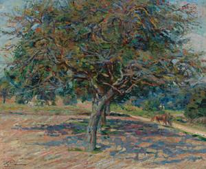 Art Prints of Trees in Ile-de-France by Jean-Baptiste-Armand Guillaumin