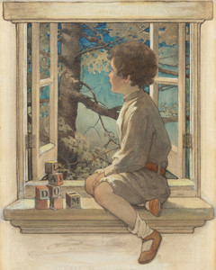 Art Prints of Dream Blocks by Jessie Willcox Smith