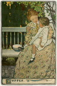 Art Prints of Supper by Jessie Willcox Smith