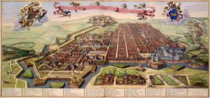 Art Prints of City of Turin, 1682 (186) by Joan Blaue