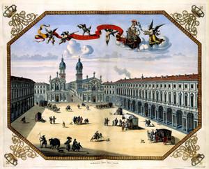 Art Prints of View of Turin, 1682 (386) by Joan Blaue