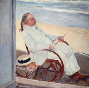 Antonio Garcia at the Beach by Joaquin Sorolla y Bastida | Fine Art Print