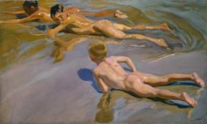 Art Prints of Boys on the Beach by Joaquin Sorolla y Bastida