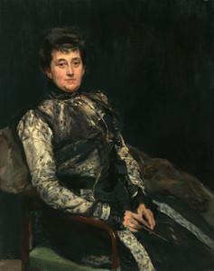 Art Prints of Maria Teresa Moret, Lady Beruete by Joaquin Sorolla y Bastida