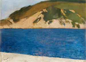 Art Prints of Monte Ulia San Sebastian by Joaquin Sorolla y Bastida