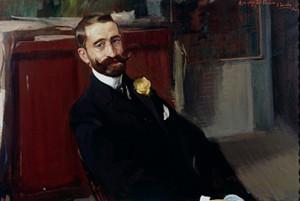 Art Prints of Retrato de Jacinto Felipe Picn y Pardias by Joaquin Sorolla y Bastida