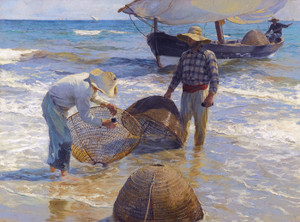 Art Prints of Valencian Fishermen by Joaquin Sorolla y Bastida