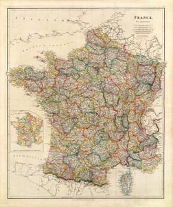 Art Prints of France, 1844 (4613011) by John Arrowsmith