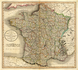 Art Prints of France, 1799 (1657013) by John Cary