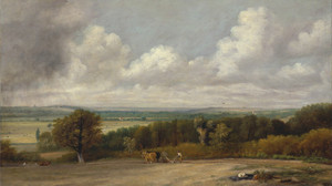 Art Prints of Ploughing Scene in Suffolk by John Constable