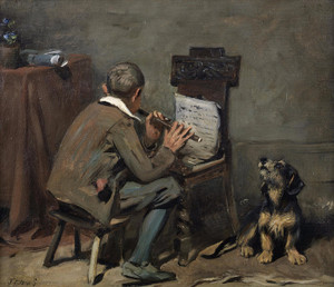 Art Prints of His Master's Voice by John Emms