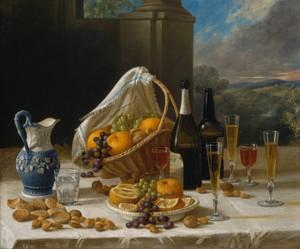 Art Prints of Luncheon, Still Life by John F. Francis