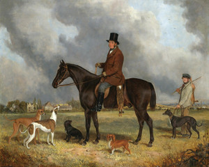Art Prints of Portrait of Mr. Henry Allen of Great Washbourne Manor by John Ferneley
