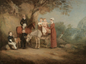 Art Prints of The Marriott Family by John Ferneley