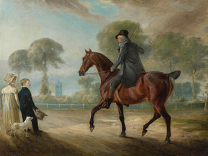 Art Prints of The Reverend Dr. Ford on His Chestnut Hunter by John Ferneley