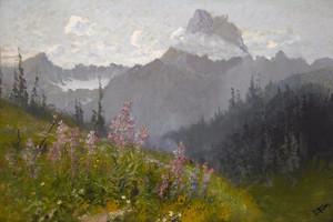 Art Prints of Mount Wilbur, Glacier National Park by John Fery