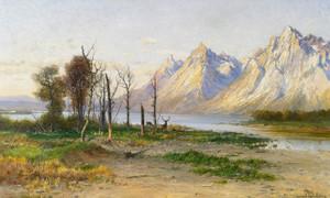 Art Prints of Lake in Wyoming by John Fery