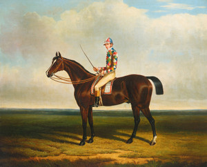 Art Prints of Blacklock with Jockey Up by John Frederick Herring