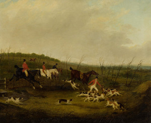 Art Prints of The Death, Foxhunting by John Frederick Herring