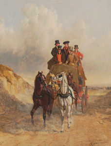 Art Prints of The Royal Mail Coach on the Road by John Frederick Herring