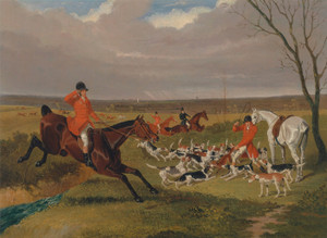 Art Prints of The Suffolk Hunt, the Death by John Frederick Herring