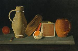 Art Prints of Jug, Book, Box and Mug by John Frederick Peto