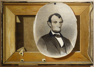 Art Prints of Lincoln and the Pfleger Stretcher by John Frederick Peto