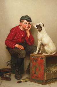 Art Prints of Best Friends by John George Brown