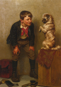 Art Prints of Steady by John George Brown