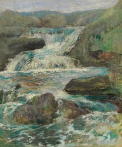 Art Prints of Horseneck Falls by John Henry Twachtman