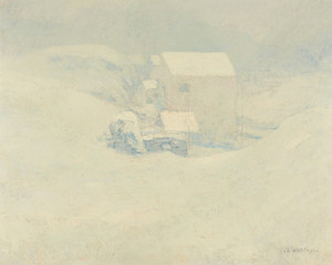 Art Prints of Snow by John Henry Twachtman