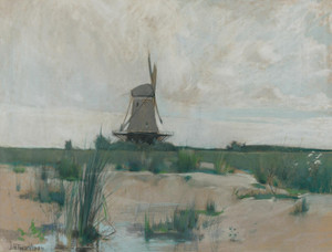 Art Prints of The Windmill by John Henry Twachtman