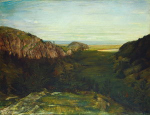 Art Prints of The Last Valley, Paradise Rocks by John La Farge