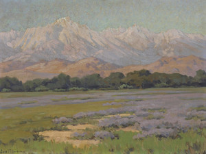 Art Prints of High Sierra from Lone Pine by John Marshall Gamble