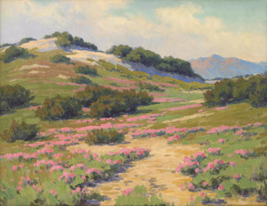 Art Prints of Spring Afternoon, the Desert near Indio by John Marshall Gamble